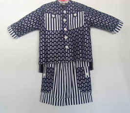 Handcrafted  - SAILOR SUIT  for Boys 4 (four) YEARS
