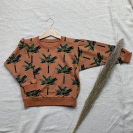 Lounge Sweater Banana Leaves