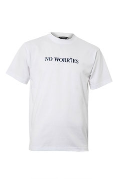 No Worries T-Shirt  Coconut white