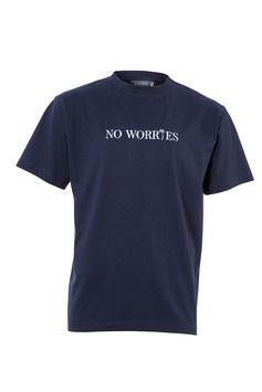 No Worries T-Shirt Ocean blue