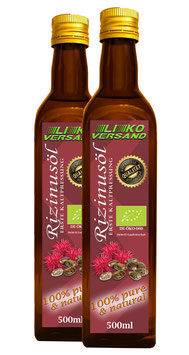 Rizinusöl bio kaltgepresst nativ