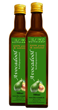 Avocadoöl kaltgepresst nativ