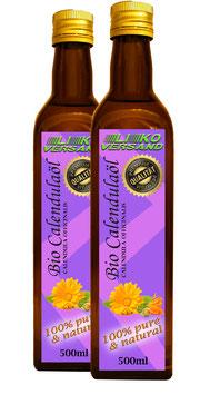 Calendulaöl bio mit Olivenöl als Basis