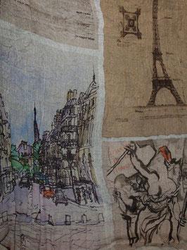 I13-2137 PARIS(パリ)ストール Faliero Sarti(ファリエロサルティ)