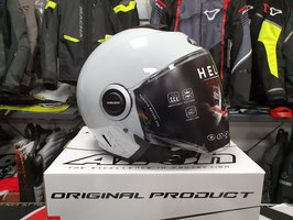 AIROH Casco Jet Helios - Color - Grey Gloss