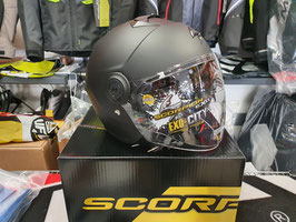 SCORPION Casco Jet EXO City - Solid - Black Matt