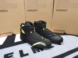 FORMA Scarpe Moto Sport GENESIS Nere / Fluo