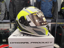 AIROH Casco Integrale Valor - Wings - Yellow Matt