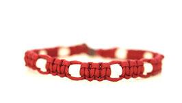 "Zeckenschutz Halsband ""Bordeaux Rot"""