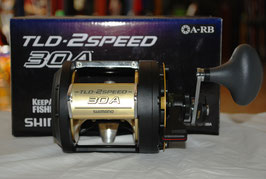 Carrete multiplicador TLD-2SPEED 30