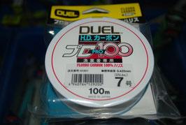 Fluorocarbón 100% Duel 100 mts