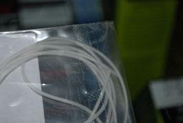 Guaina silicone tube clear