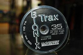Trenzado Grauvell Bionix trax 100mts, 0'35mm-21kg
