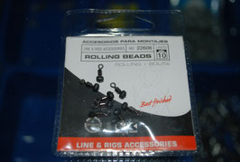 Rolling beads 10uds