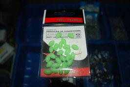 Perlas flotantes blandas fluor 25 uds, 6x10