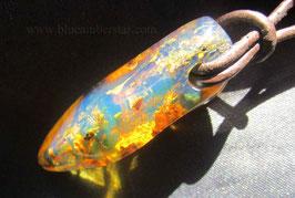 Blue Amber pendant