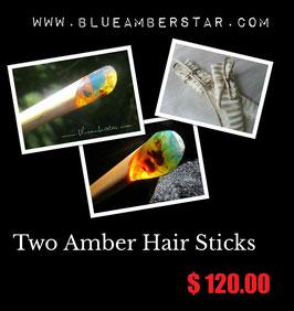 Hair Stick (H-8) + Hair Stick (H-15)