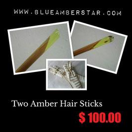 Hair Stick (H-6) +Hair Stick (H-7)