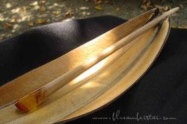 Amber hair stick (H-9)