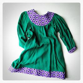 Ray Dress in Purple Basil