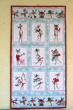 Wandbehang Rudolph - unfertig