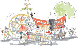 Taubertal Festival Postamt