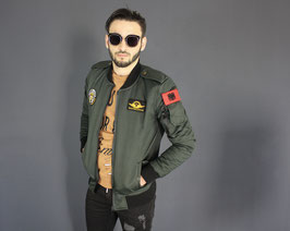 BB ARMY BOMBER JACKET OLIVE