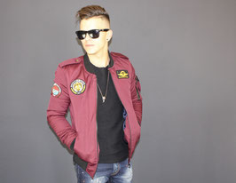 BB ARMY BOMBER JACKET RUBY