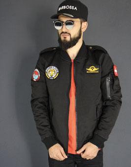 BB ARMY BOMBER JACKET BLACK