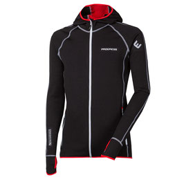PROGRESS Tecnostretch Torez Sportjacke mit Kapuze Hoody