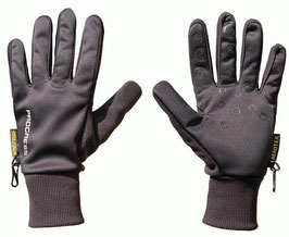 PROGRESS winddichte  Handschuhe Trek mit Silikoninnenhand für Laufen und Outdoor
