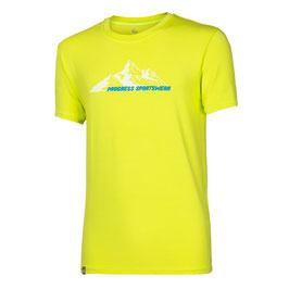 PROGRESS Herren Outdoor T-Shirt Pionier Mountains für Herren mit 95% Bambusfasern