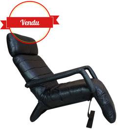 Fauteuil relax design en cuir