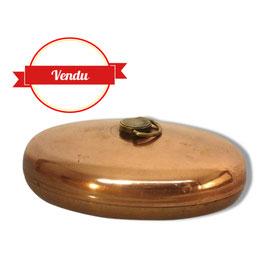 Ancienne bouillotte en cuivre