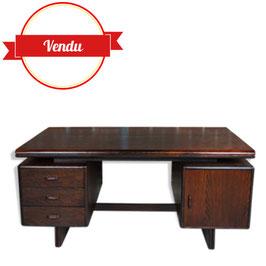 Superbe bureau vintage vers 1960 - 70