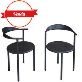 Paire de chaises Hashwood, Philippe Starck
