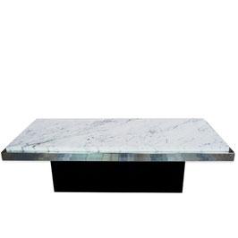 Table basse marbre de carrare 1970