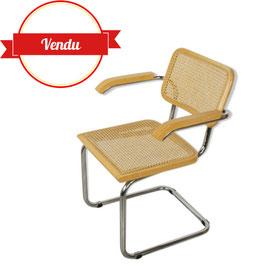 Fauteuil cesca B64 design Marcel Breuer