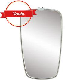 Miroir bord blanc 1960