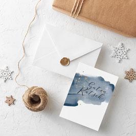"""Postkarte """"Guten Rutsch"""""""