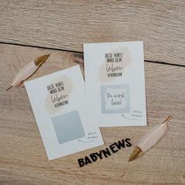 Rubbelkarte | Oma | Postkarte A6
