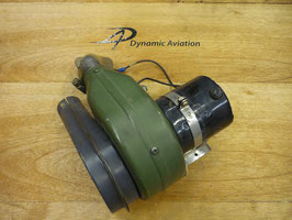 piper - Combuster air blower and motor assembly