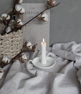 Kerzenständer Llunggarden weiß