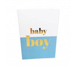 Grußkarte baby boy