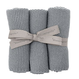 Putztücher Baumwolle grau