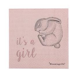 Servietten it's a girl