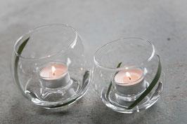 Teelicht mit Vasenfunktion