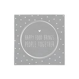 Servietten Happy Food brings
