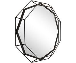 Wandspiegel Linea black