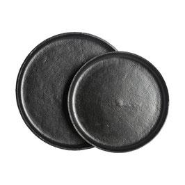 Tablett schwarz matt